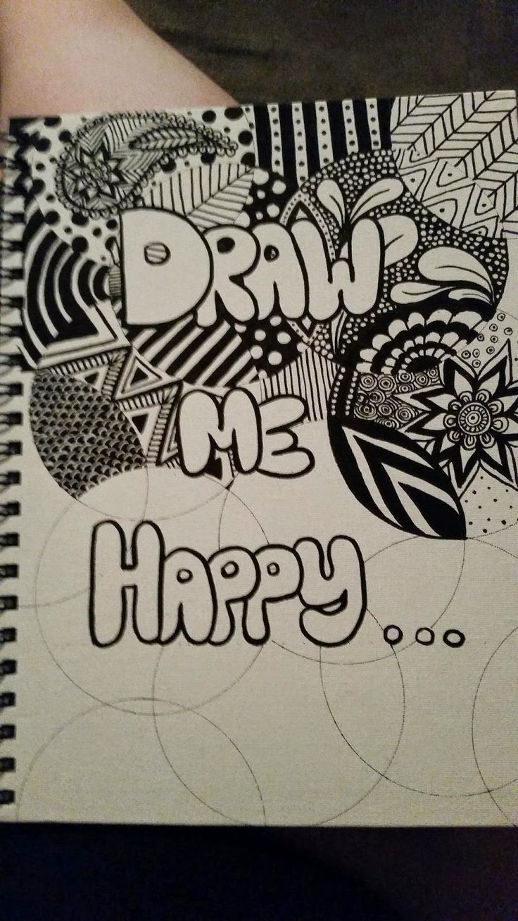 Draw me happy: Choose your own adventure... Today's blog post