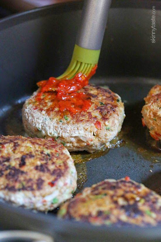 Skillet Harissa Turkey Meatloaf | Skinnytaste