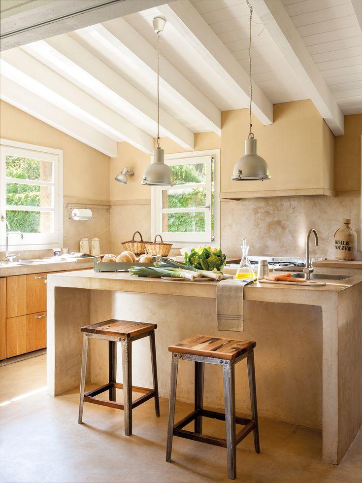 Mejores 18 imágenes de Cocinas con isla en Pinterest   Cocinas ...