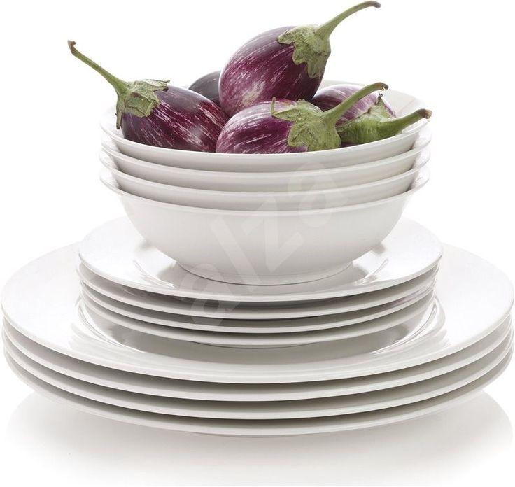 Maxwell & Williams WHITE BASICS étkezőkészlet, 12 db - Étkezőkészlet