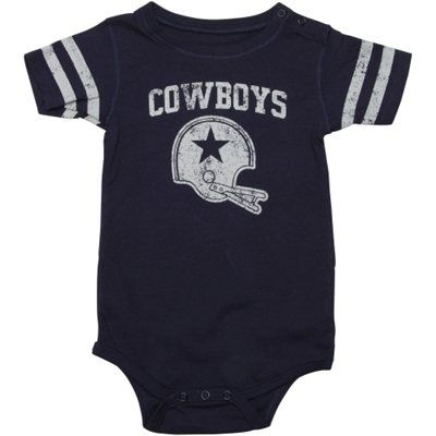 Dallas Cowboys Infant Sprout Creeper – Navy Blue