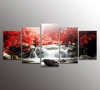 Frame:NO style:photography type:Printed Support Base:canvas  Material:Glossy Waterproof canvas  size