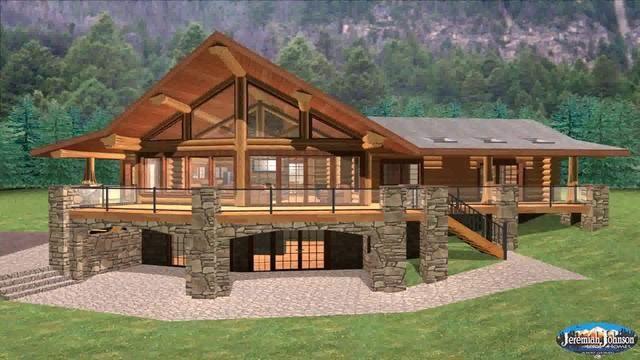 Pole Barn Home Floor Plans With, Pole Barn Home With Basement