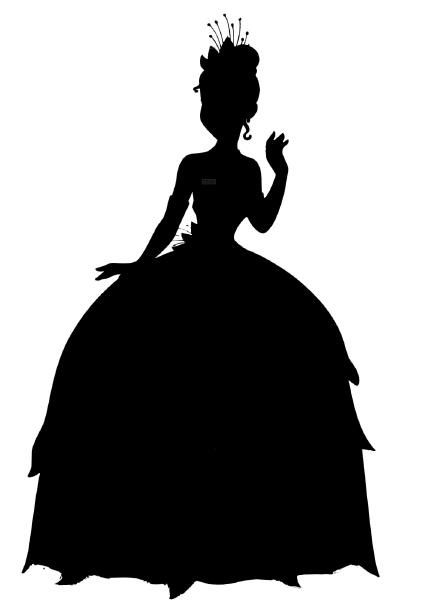 princess tiana and the frog silhouette - Google Search