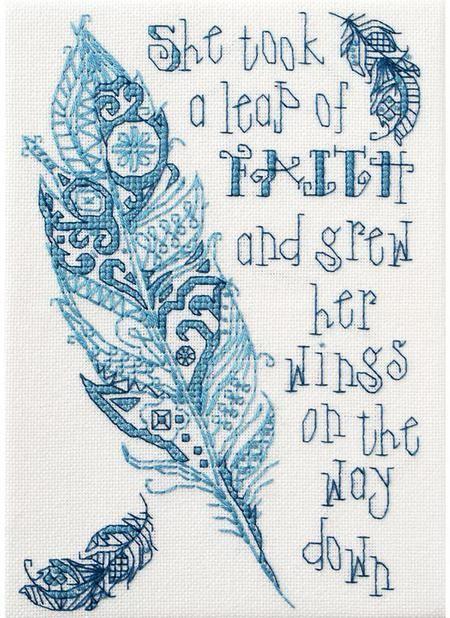 Leap of Faith - Cross Stitch Kit