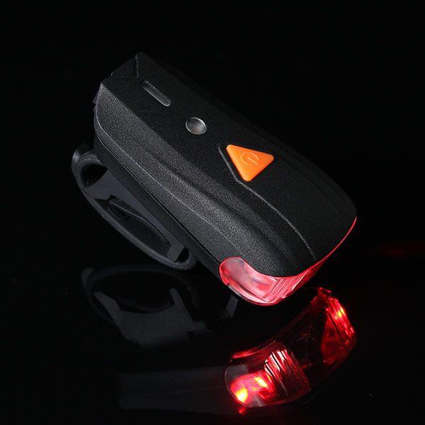 XANES 500LM XPG + 2 LED自転車ドイツ標準スマートセンサー警告灯防水自転車フロントライトヘッドライト懐中電灯5モードUSB充電ナイトライディング