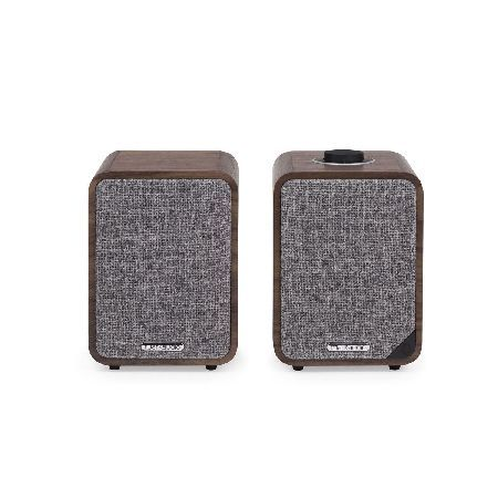 Ruark Audio MR1MK2-WALNUT Add 20W of clear and dynamic sound to your home with the Ruark MR1 Mk2 Bluetooth stereo speaker system. Built with a fixed integrated grille made from British sourced fabric the Ruark MR1 Mk2 not only http://www.MightGet.com/may-2017-1/ruark-audio-mr1mk2-walnut.asp