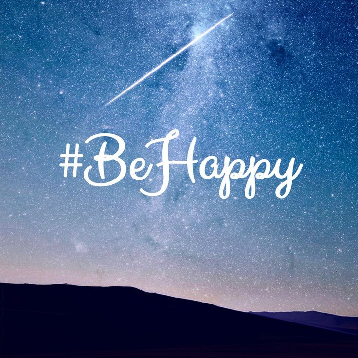 Take a moment to do what makes you happy. #BeHappy
