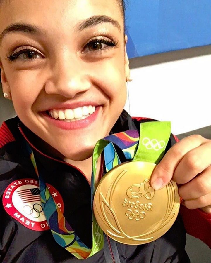 Proud Brother of Olympian Laurie Hernandez Posts Heartfelt Words After She Wins the Gold