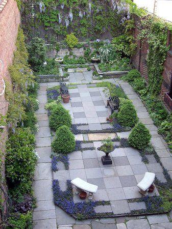 19th Century Garden in Rear