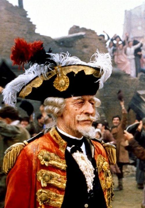 John Neville in The Adventures of Baron Munchausen