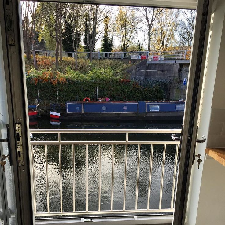 Great view from our Runcorn apartments of the Bridgewater Canal #waterside
