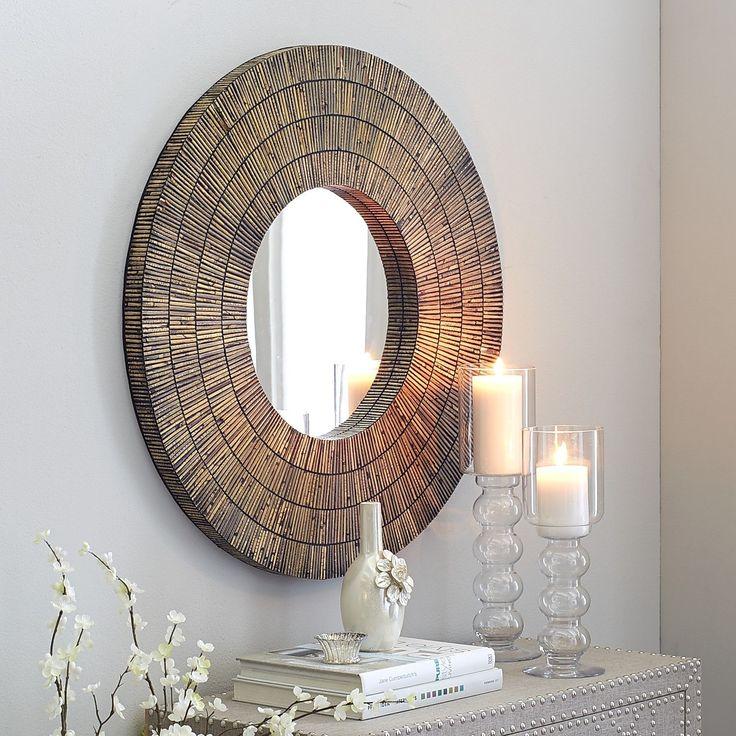 Chaux Rattan Mirror