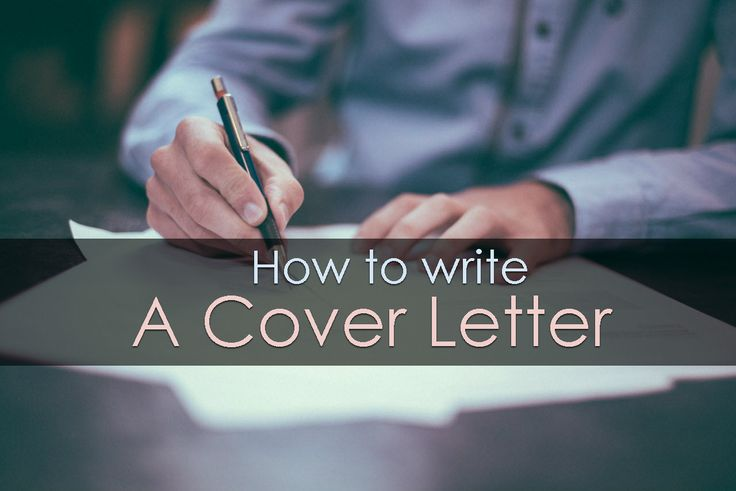 Tips to write a cover letter CoverLetter