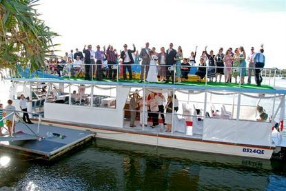 Catalina Cruises Noosa - a unique and beautiful way to transport your guests.