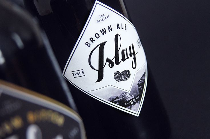 Islay Beer (Concept) on Packaging of the World - Creative Package Design Gallery