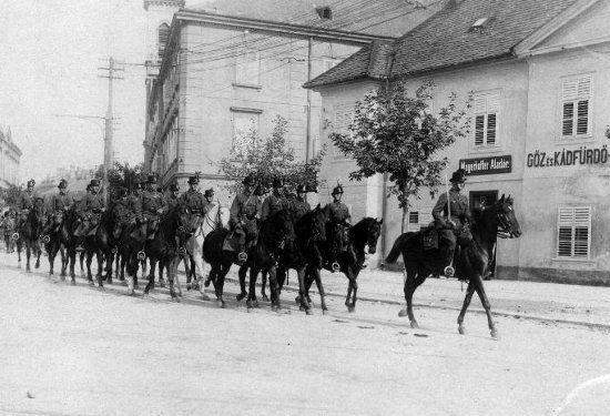 az Ostenburg-zászlóalj Sopronban (1921. augusztus)