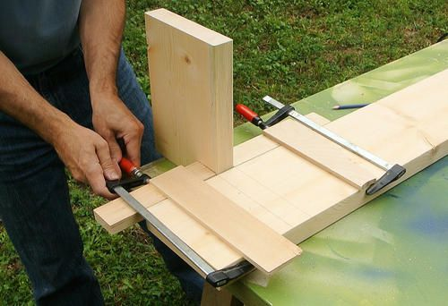 Cutting dadoes with a circular saw