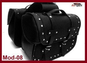 alforjas-cuero-motos-custom-mod-8 #accesoriosmoto #alforjas #motos #motorista #custom #biker #chopper #kursport #accesoriosmotos #moto #motorcycle #moteros #motorbike #saddlebag #leather