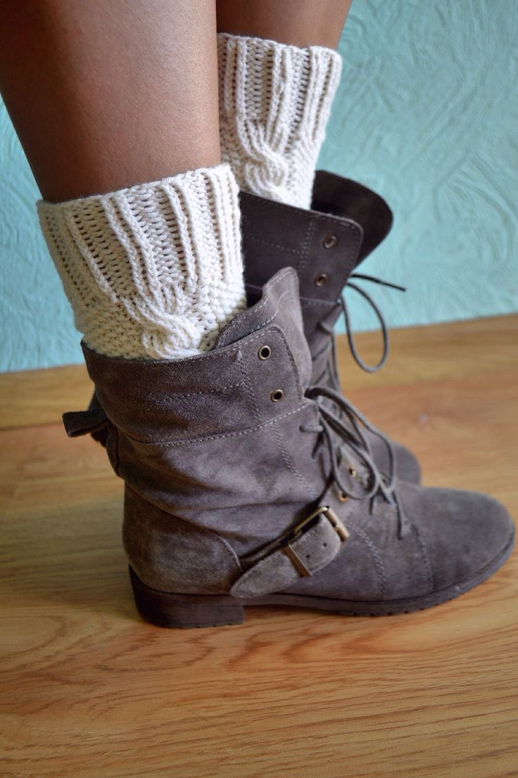 Just finished my boot cuffs) #diy #knitting #handmade #wool #bootcuffs #bershka