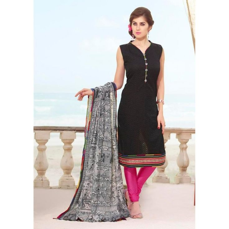 Office Wear Readymade Navy Blue Salwar Suit - 79831