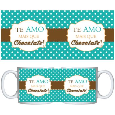 Estampa para caneca Chocolates 000839 - Customize Transfer