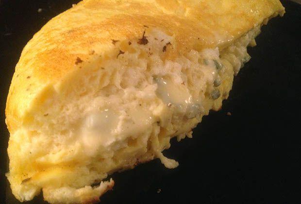 Omelette soufflée des frères Troisgros