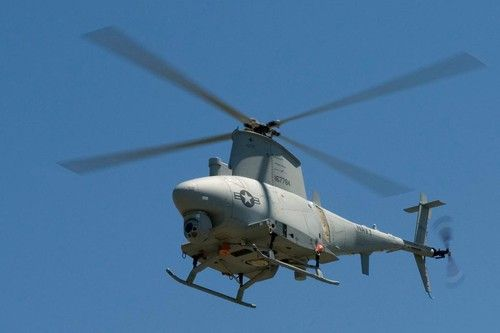 The MQ-8 Fire Scout provides real-time airborne surveillance and targeting which supports C-IED. For more info on the helicopter, go to: http://www.thebaynet.com/news/index.cfm/fa/viewstory/story_ID/33281