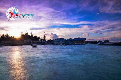 Sunrise @ Derawan Island, East Borneo - Indonesia
