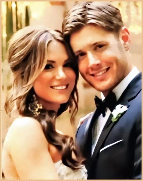jensen and danneel wedding photos | ... Danneel Harris. (essa, certamente acertou o coração do loirinho que