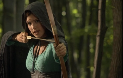 Lucy Griffiths as Marion. I'd have to say she is my favorite version of this character. She plays Marion so well, not ditsy or flighty, but gutsy and brave.