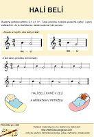 Flétnička: noty