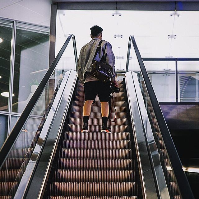 Escalator life featuring @chosenwonton Congrats to all the winners of #sydneynightsquad4! The photos are amazing 💛well deserved. #mynikonlife #georgescameras #jointhemvmt