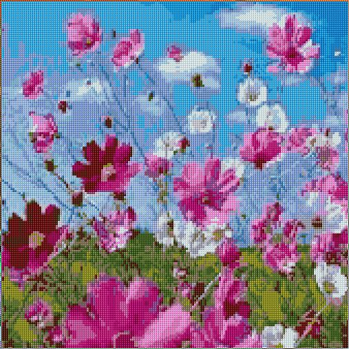 Cross Stitch   Flowers xstitch Chart   Design