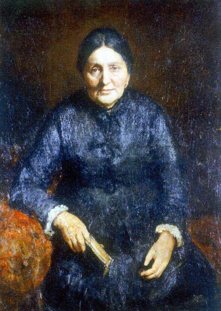August  Roth, Sophie Köhler, um 1880, Öl auf Leinwand © Wien Museum