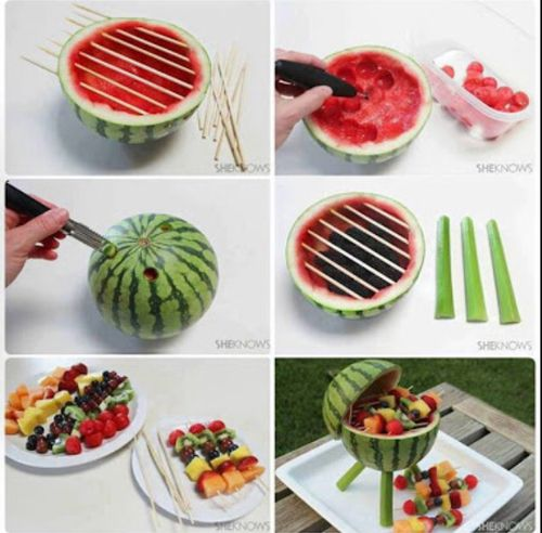Nice for a barbeque #DIY