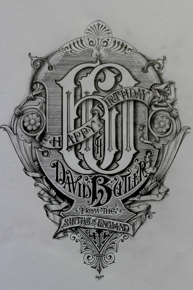 Dave Butler Sketch « David Smith – Traditional Ornamental Glass Artist