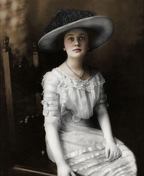 Summer, Ivory White Court Dress 1899.