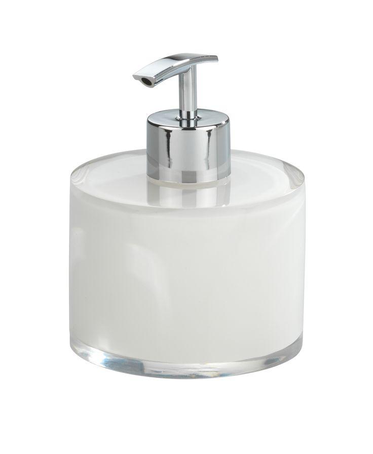 Wenko Tropic zeepdispenser, wit 9,5x12cm, wit