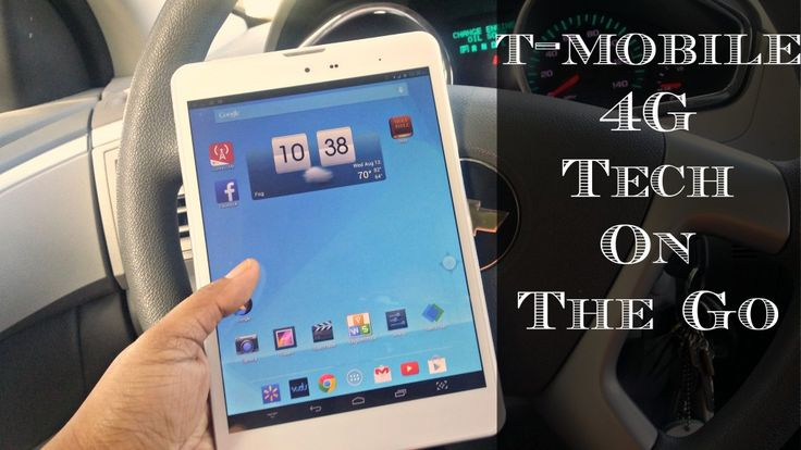 Tech On the Go - T-Mobile 4G Tablet #TabletTrio #shop - Houseful Of Nicholes