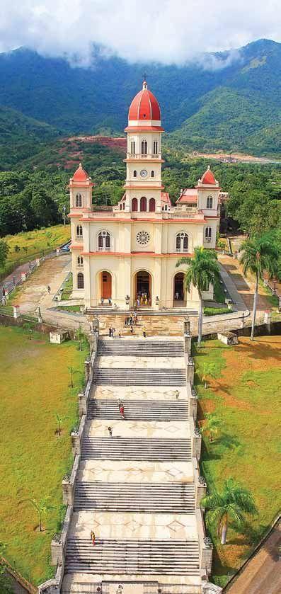 Iglesia (Basílica) de la Virgen de la Caridad del Cobre, la Patrona de Cuba // Our Lady of Charity, El Cobre #Catholic #SantiagoDeCuba