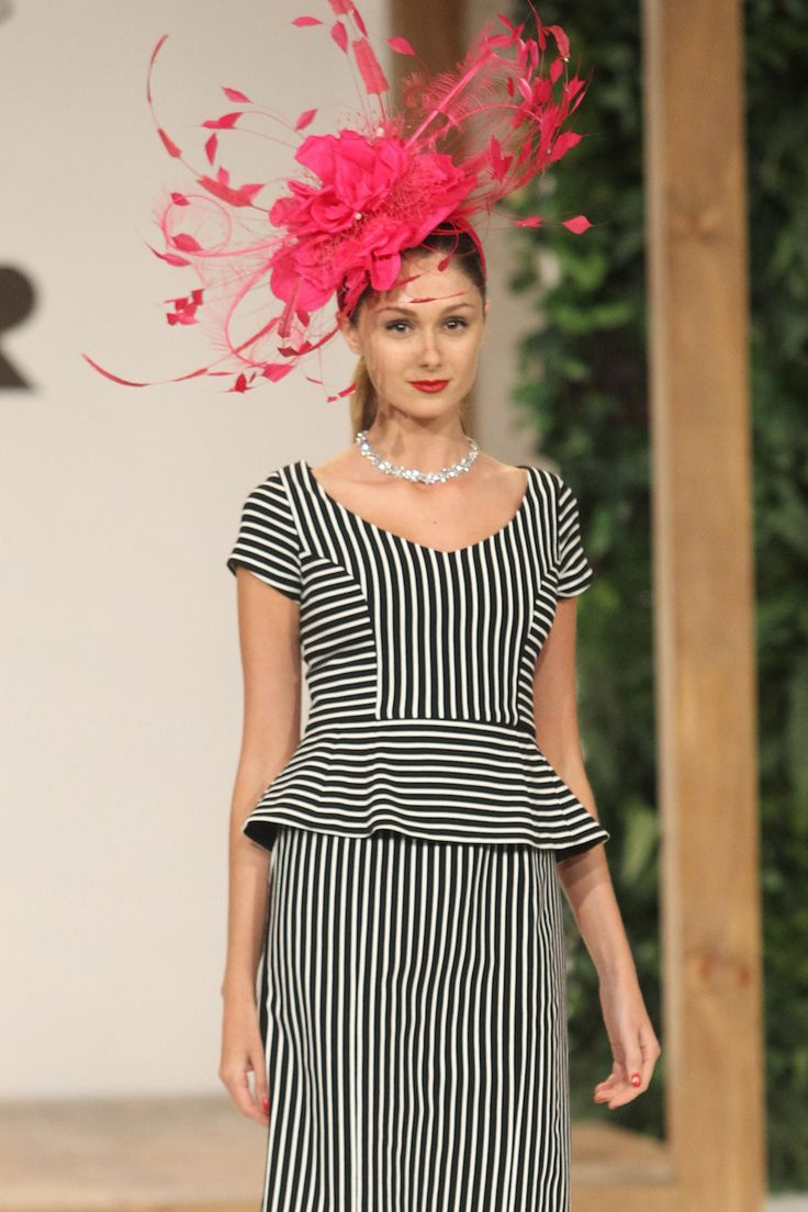 Be bold with a statement head piece at the 2013 Spring Racing Carnival