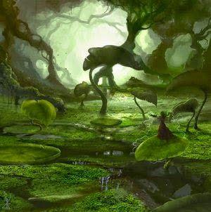 O ARREBOL ESPÍRITA! : O PÂNTANO  É um quadro sempre inquietante Que inspira pena e cuidado Quando vemos no caminho O pântano abandonado. VER COMPLETO: http://rsdurantdart.blogspot.com.br