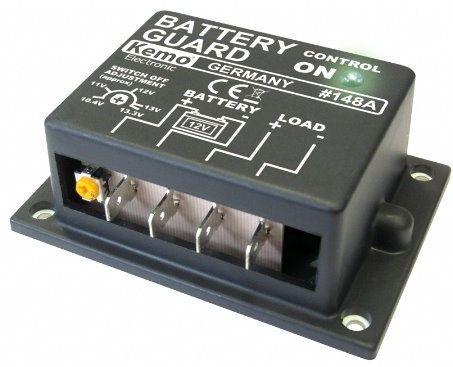 Batteri vagt 12V DC, M148A. Beskytter dit bil-batteri fra total afladning