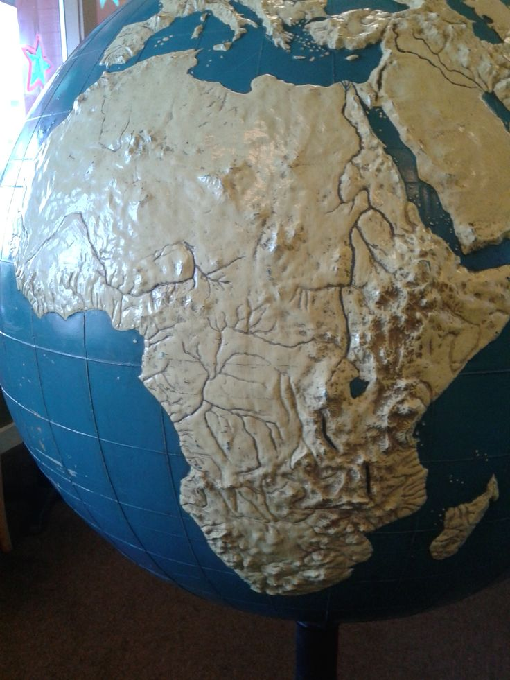 46 best tactile globes images on pinterest globes geography and maps an exceptionally rare relief braille globe for the blind dated 1954 gumiabroncs Images