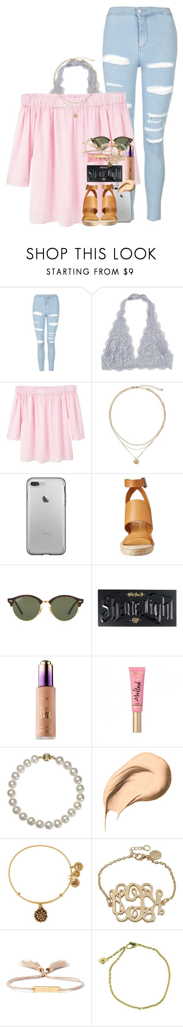 """""""life can be tough, but you have to persevere."""" by ellaswiftie13 ❤ liked on Polyvore featuring Topshop, MANGO, Dolce Vita, Ray-Ban, Kat Von D, Belle de Mer, Bobbi Brown Cosmetics, Alex and Ani, Chloé and Cartier"""