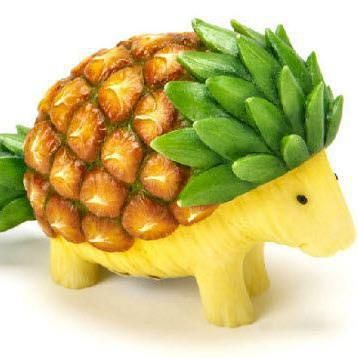 Fruit Art Love this one! http://www.topinspired.com/top-10-amazing-fruit-arts/ #funwithfood