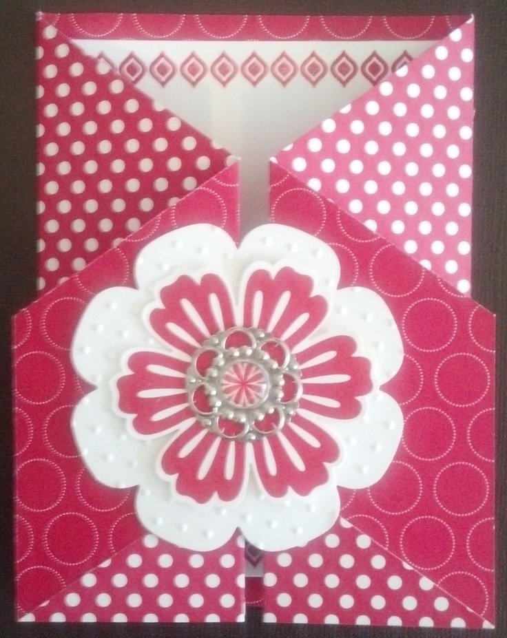 Double Gate Fold Card -love love love this one!
