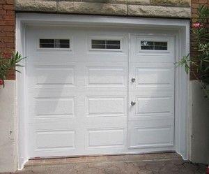 Convert Garage Door To Pedestrian Door   This Is An Example Of Pedestrian  Door; It