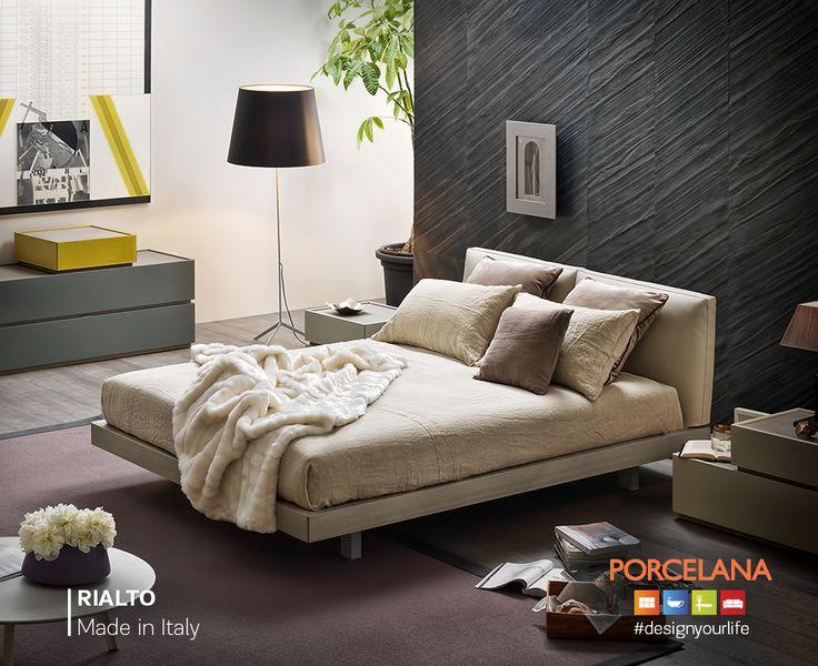 Υποδεχόμαστε τον Δεκέμβριο με το απόλυτο όνειρο του #cocooning! #StayCozy στο κρεβάτι «Rialto», βασισμένο στο #zen #style! #Designtip Για ένα ιδιαίτερα ζεστό αποτέλεσμα επιλέξτε πλακάκι δαπέδου τύπου ξύλο «Soho». #designyourlife @ Porcelana